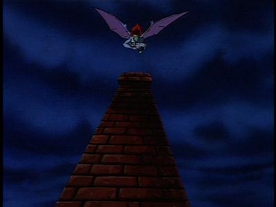 Disney Gargoyles - Long Way To Morning - demona swoops