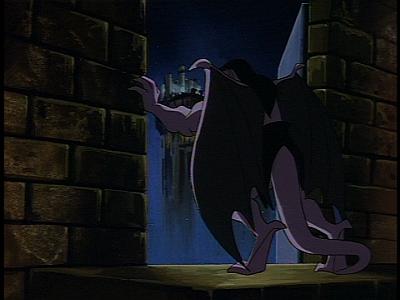 Disney Gargoyles - Long Way To Morning - goliath eyrie building