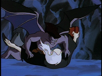 Disney Gargoyles - Long Way To Morning - goliath tackles archmage