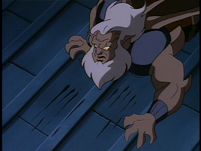 Disney Gargoyles - Long Way To Morning - hudson sees clawmarks