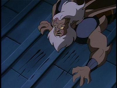Disney Gargoyles - Long Way To Morning - hudson sees clawmarks