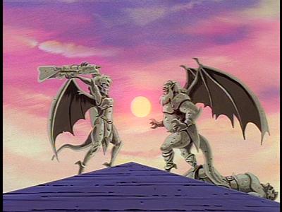 Disney Gargoyles - Long Way To Morning - stone morning