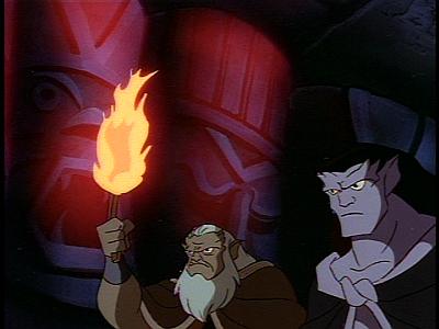 Disney Gargoyles - Long Way To Morning - tiki hut cave