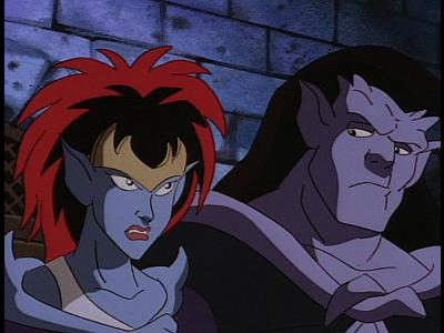 Disney Gargoyles - Long Way To Morning - young demona goliath doubtful
