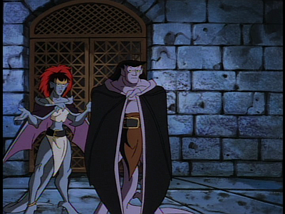 Disney Gargoyles - Long Way To Morning - young demona goliath