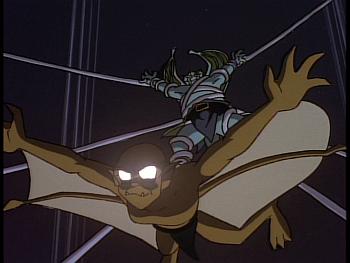 Disney Gargoyles - Reawakening - broadway tired up, lexington