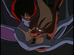 Disney Gargoyles - Reawakening - brooklyn tackles demona