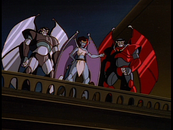 Disney Gargoyles - Reawakening - demona xanatos steel clan