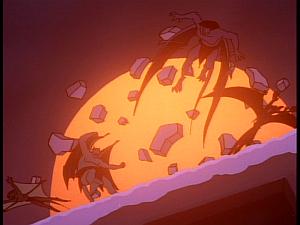 Disney Gargoyles - Reawakening - laser blast