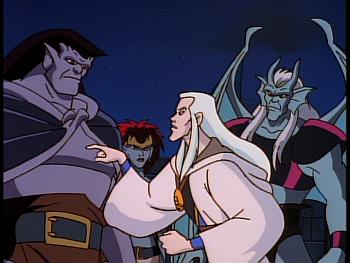 Disney Gargoyles - Reawakening - magus demona goliath coldstone
