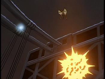 Disney Gargoyles - Reawakening - robot explodes by lex