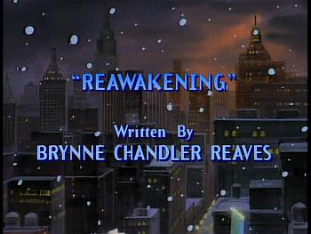 Disney Gargoyles - Reawakening - title