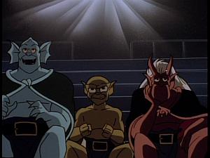 Disney Gargoyles - Reawakening - trio bambi theater