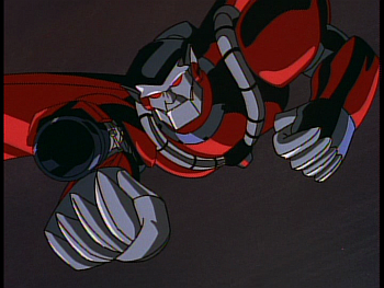 Disney Gargoyles - Reawakening - xanatos armor laser