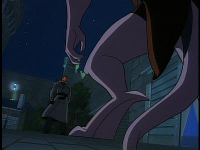 Disney Gargoyles - The Edge - Goliath lands to deal with xanatos