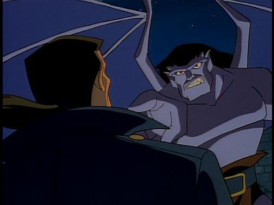 Disney Gargoyles - The Edge - goliath accuses xanatos