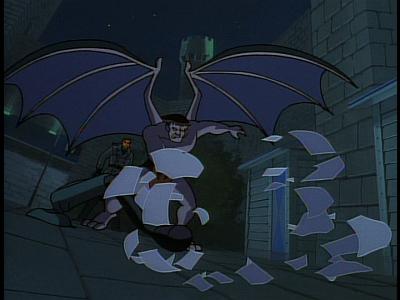 Disney Gargoyles - The Edge - goliath breaks lamp
