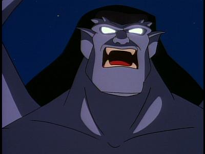 Disney Gargoyles - The Edge - goliath roars
