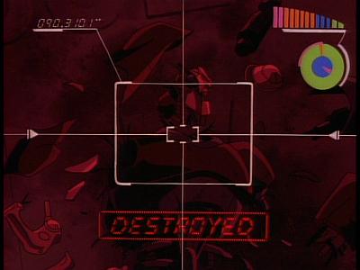 Disney Gargoyles - The Edge - robot status 1
