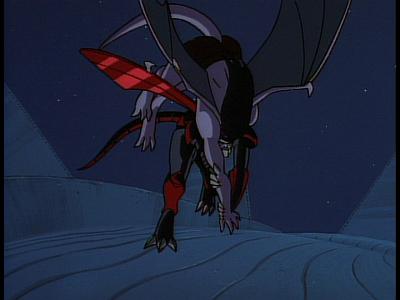 Disney Gargoyles - The Edge - seoi nage xanatos throws goliath