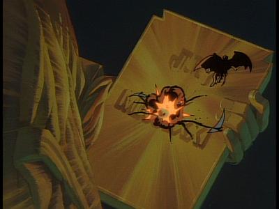 Disney Gargoyles - The Edge - steel clan crashes