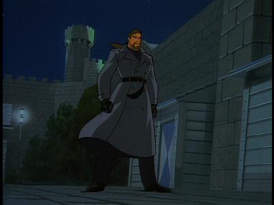 Disney Gargoyles - The Edge - xanatos black coat