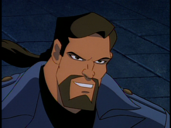 Disney Gargoyles - The Edge - xanatos calm