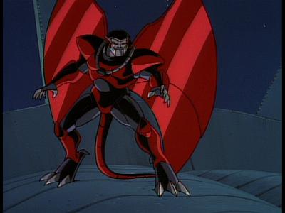 Disney Gargoyles - The Edge - xanatos exo armor ready to fight