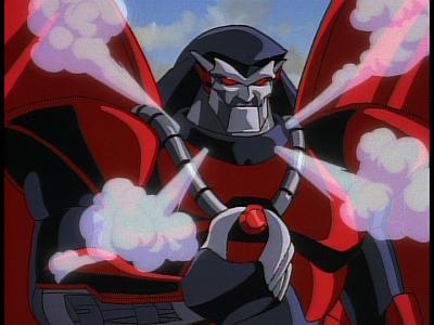 Disney Gargoyles - The Edge - xanatos reveal exo armor