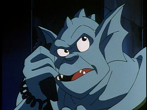 Disney Gargoyles - Leader of the Pack - broadway answers phone