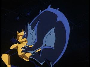 Disney Gargoyles - Leader of the Pack - bronx attacks coyote
