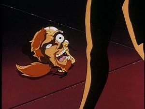 Disney Gargoyles - Leader of the Pack - coyote head