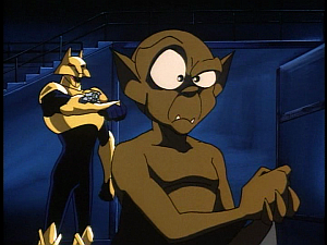Disney Gargoyles - Leader of the Pack - coyote mind warp ray lexington
