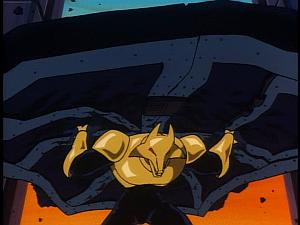 Disney Gargoyles - Leader of the Pack - coyote tears gate off hinges