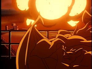 Disney Gargoyles - Leader of the Pack - explosion