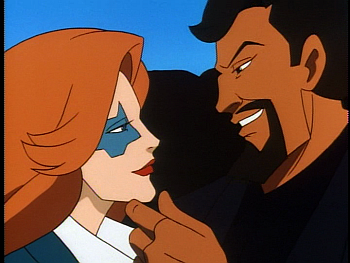 Disney Gargoyles - Leader of the Pack - fox and xanatos in limo
