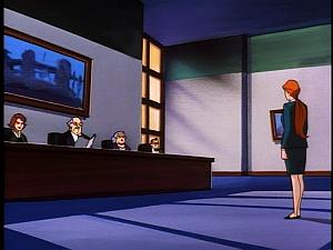 Disney Gargoyles - Leader of the Pack - fox before parole board