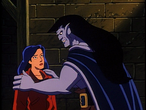 Disney Gargoyles - Leader of the Pack - goliath and elisa pack escaped