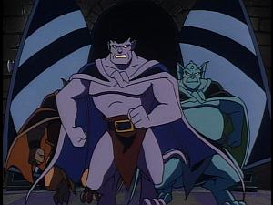 Disney Gargoyles - Leader of the Pack - goliath hudson broadway march into castle