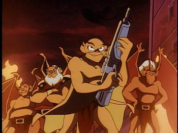 Disney Gargoyles - Leader of the Pack - hot gargoyles group shot