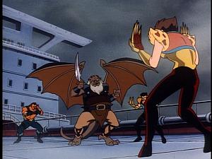Disney Gargoyles - Leader of the Pack - hudson and jackal hyena dingo