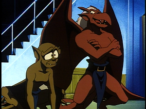 Disney Gargoyles - Leader of the Pack - lexington sad brooklyn smug