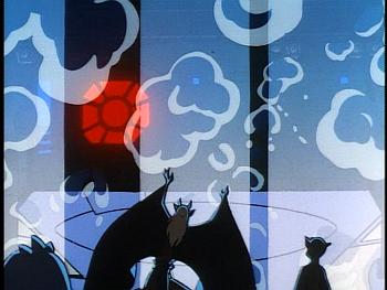 Disney Gargoyles - Leader of the Pack - pack airship rises through floor
