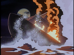 Disney Gargoyles - Leader of the Pack - ship sinks