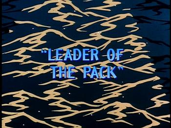 Disney Gargoyles - Leader of the Pack - title