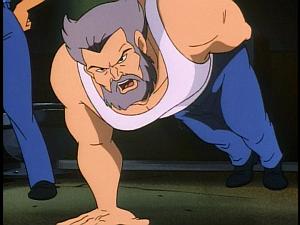 Disney Gargoyles - Leader of the Pack - wolf pushups