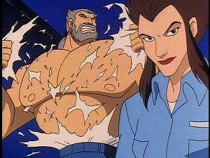 Disney Gargoyles - Leader of the Pack - wolf rips off shirt