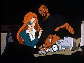 Disney Gargoyles - Leader of the Pack - xanatos explains robot head to fox