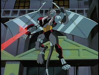 Disney Gargoyles - Legion - coldstone shooting laser