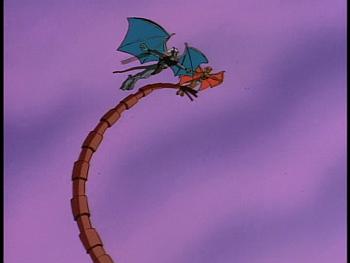 Disney Gargoyles - Legion - desdemona othello coldstone fly over virus